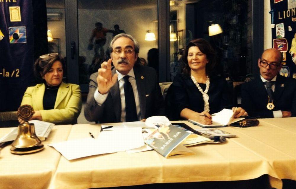Il Governatore Catellani in visita al Lions di Tortona