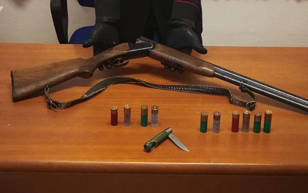 A Triora i Carabinieri arrestano un bracconiere di 52 anni sequestrando fucile e proiettili