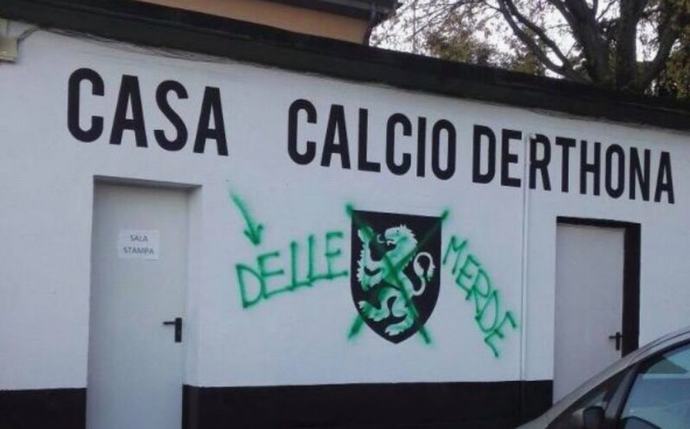 Vandali allo stadio Fausto Coppi di Tortona nei confronti dell'Hsl Derthona