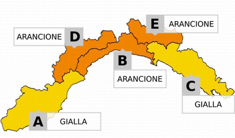 Anche sabato l'allerta neve nel Ponente Ligure