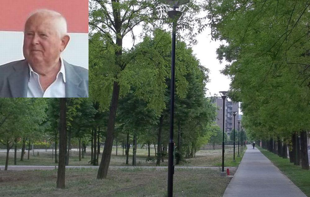 """Al tortonese Giuseppe Mutti il titolo di """"Imprenditore dell'anno"""". Ha costruito il quartiere Oasi e donato alla città questo parco"""