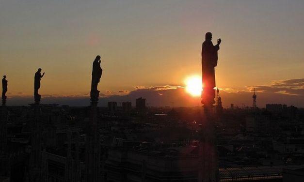 Viaggiareoggi: Milano vista dalle guglie del Duomo – Di Alessandro Tavilla