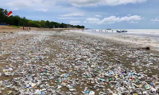 Bali, il paradiso invaso dalla plastica! E noi ci arrabattiamo per i due centesimi delle borse… Sì, forse è meglio Diano Marina…..