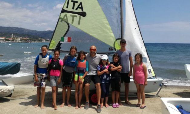 A Diano Marina un raduno di Vela promosso da Diego Negri per incentivarne l'amore dei giovani