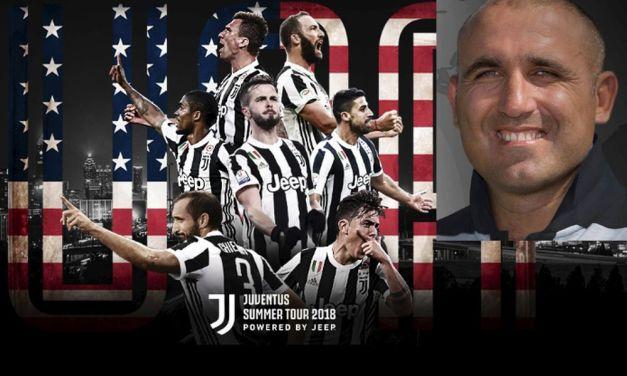Il Dianese Domenico Gangemi torna in Italia per partecipare con la Juventus ad un evento mondiale di calcio