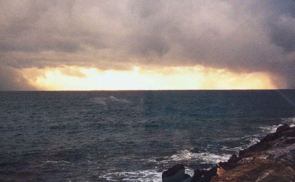 Nel Ponente ligure l'allerta meteo è scesa a livello giallo