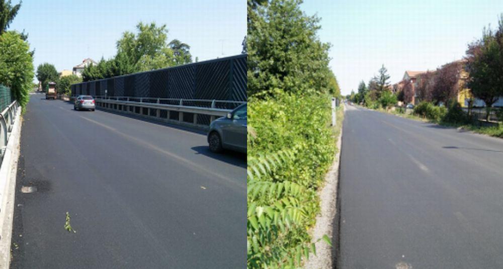 A Tortona terminati i lavori di asfaltatura lungo la statale per Genova