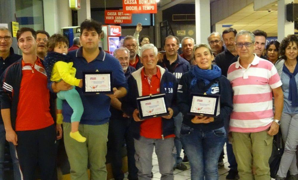 Al Bowling di Diano Lorena Pasqualetto vince per la Croce Rossa