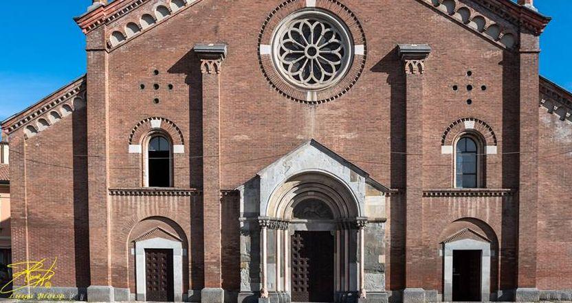 Il vento distrugge l'antica vetrata della chiesa parrocchiale di Castelnuovo Scrivia