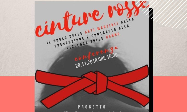 """Ventimiglia, giovedì 29 novembre l'incontro """"Cinture Rosse"""" contro la violenza sulle donne"""