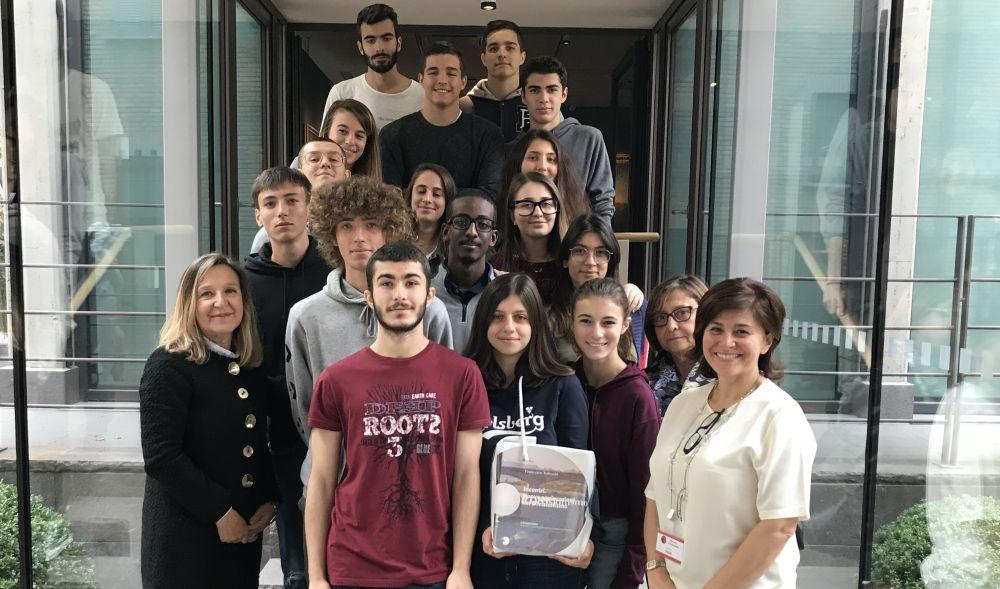 Gli studenti del Marconi in visita al Museo del Divisionismo imparano ad amare l'arte