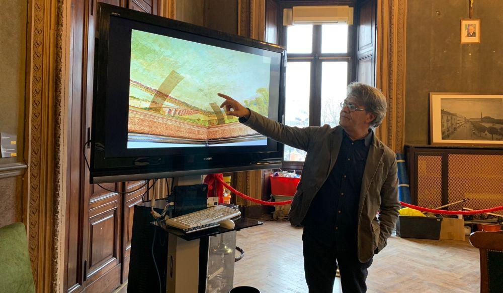 Conclusi i restauri agli affreschi di Sassi nel Municipio di Alessandria