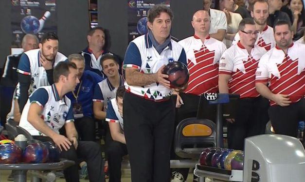 Il campione del mondo Reviglio al Bowling di Diano