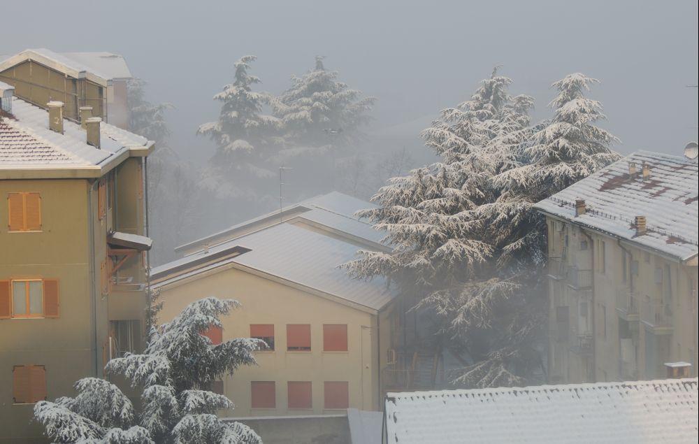 Possibile chiusura delle scuole a Tortona per la neve. Vi terremo aggiornati