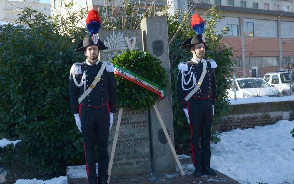 Novi Ligure: Commemorato il 48° Anniversario dalla morte di 3 Carabinieri uccisi nel corso di una sparatoria.