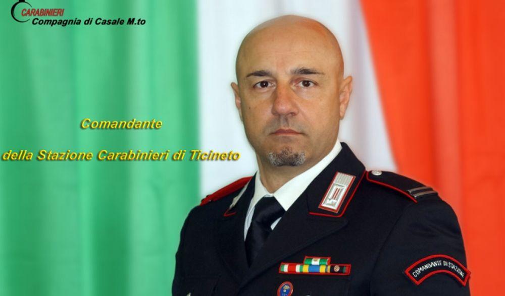Ad Antonio Narcisi il Comando dei carabinieri di Ticineto Po
