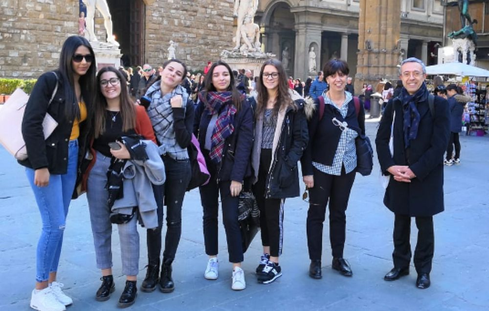 Gli studenti tortonesi del Marconi a Firenze