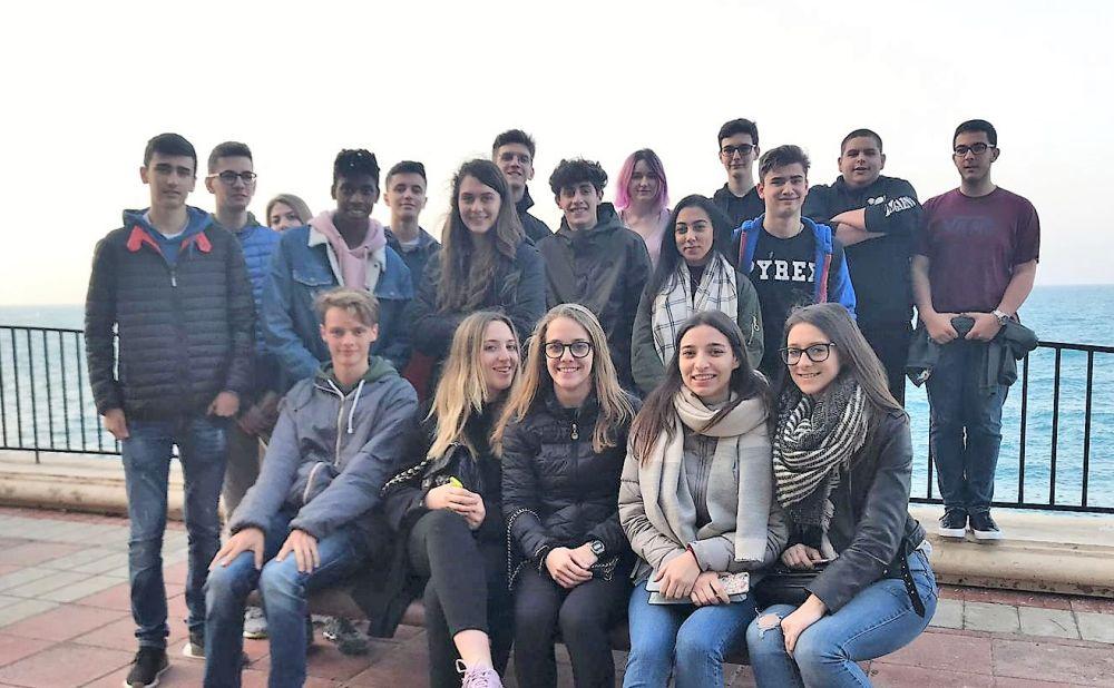 I giovani del Marconi di Tortona a Malta per l'alternanza scuola- lavoro