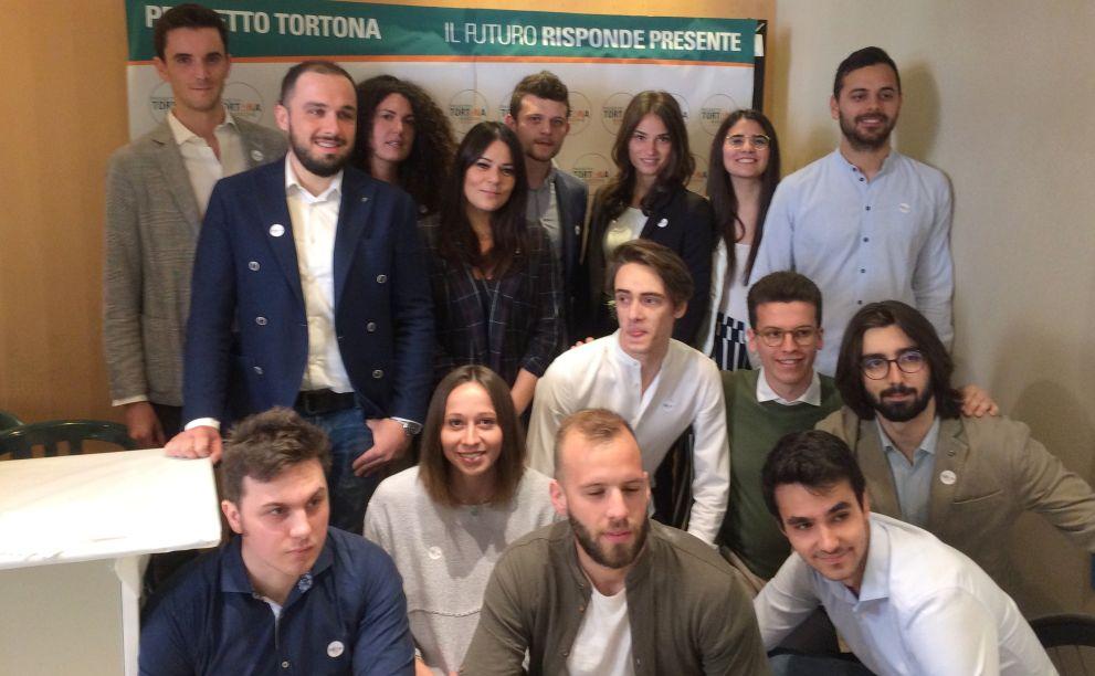 Presentata la lista dei giovani under 30 che appoggia Bardone, novità della campagna elettorale a Tortona