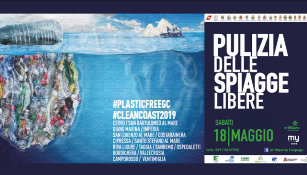Sabato la pulizia delle spiagge libere nel Golfo Dianese e in provincia di Imeperia