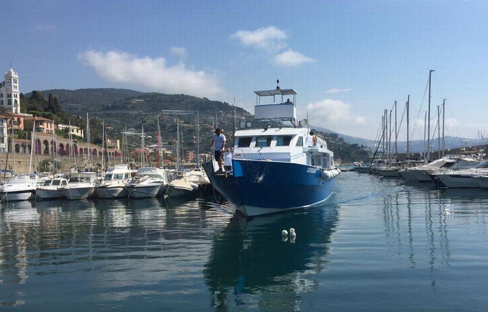 Gli alunni della Scuola media Biancheri di Ventimiglia alla scoperta dei cetacei nel Santuario internazionale Pelagos con il FAI.