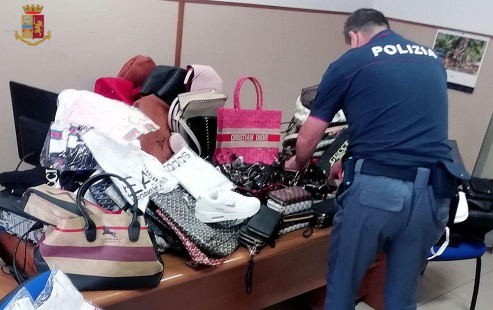 Ventimiglia. Mercato del venerdì. I dispositivi coordinati dalla Polizia di Stato per contrastare l'abusivismo commerciale.