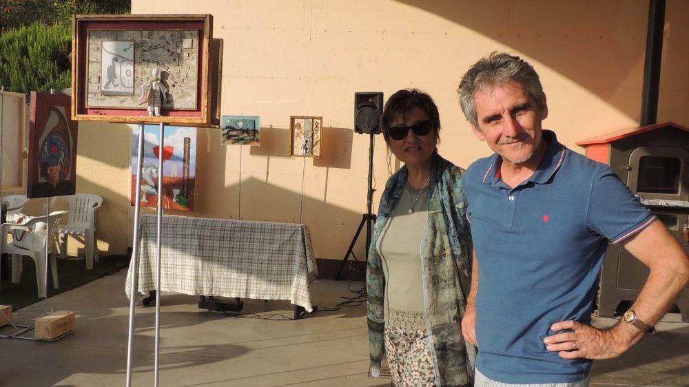 Giovedì sera a Tortona arte in via Fracchia con Bertoni, Bottone e Falchetto
