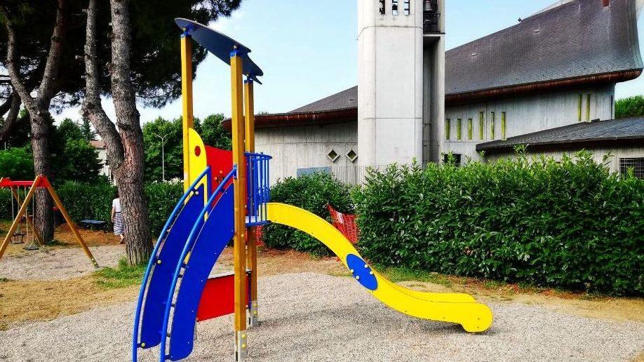 Ad Acqui terme si ristruttura l'area giochi di San Defendente