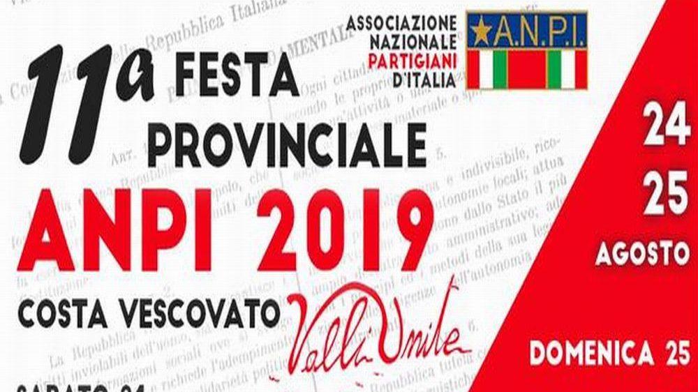 A Costa Vescovato c'è la Festa provinciale dell'Anpi