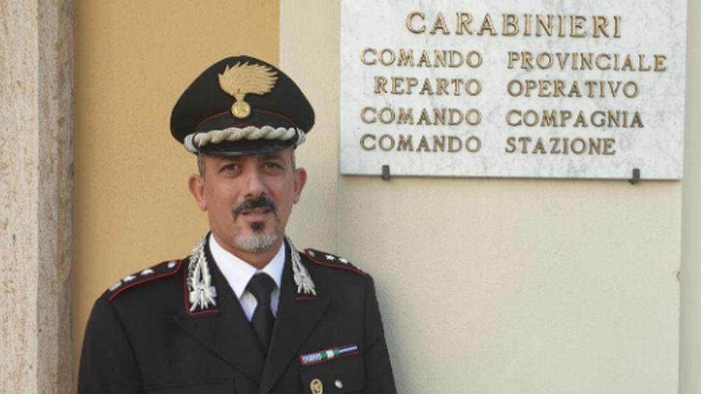 Pierluigi Giglio nuovo Comandante dei Carabinieri di Imperia