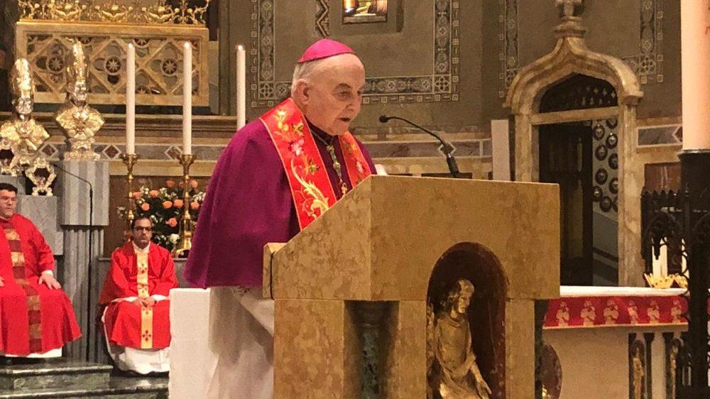 E' morto il Vescovo orionino Andrea Gemma, giovedì a Tortona i funerali