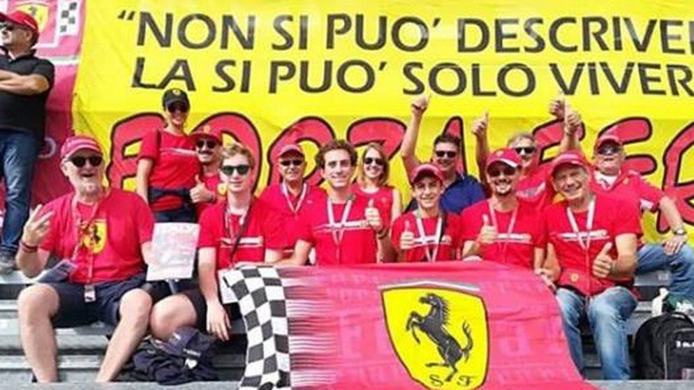 C'era anche un  commerciante di Tortona a Monza alla vittoria di Leclerc