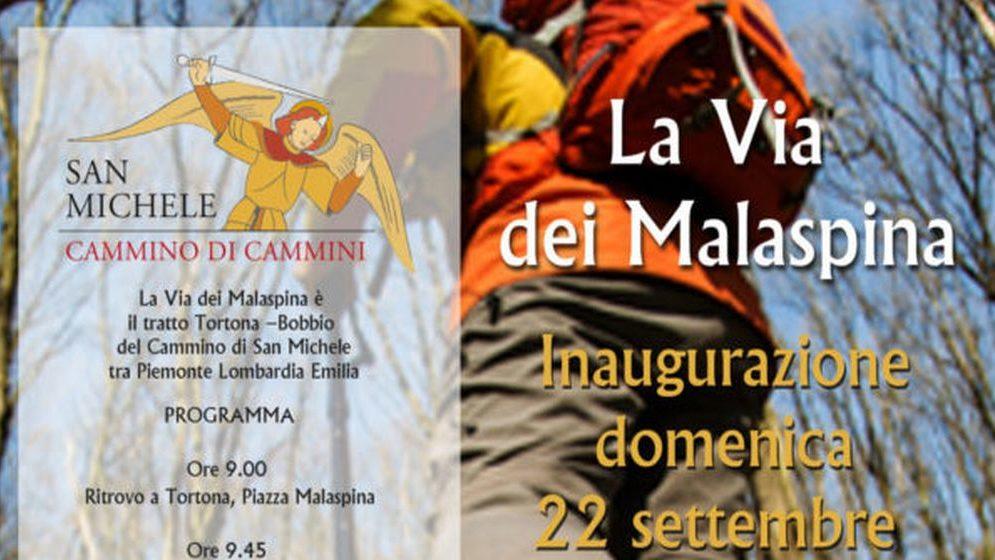 Domenica a Tortona si inaugura il Cammino di San Michele sulla via dei Malaspina a piedi o in bici, con degustazioni e…..
