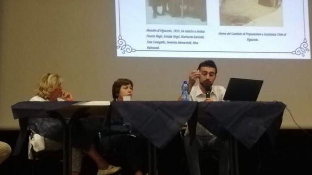 """Presso la Soms di Viguzzolo inaugurata la mostra """"storie di mutuo soccorso al femminile"""""""
