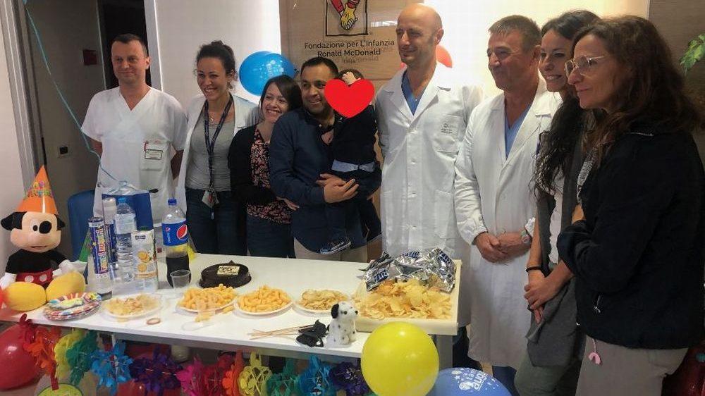 All'ospedale infantile di Alessandria ricostruito l'esofago di un bimbo di 3 anni