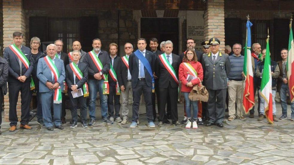 A Fabbrica Curone ricordati i partigiani caduti nella Seconda guerra mondiale
