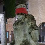 Basta Censura! A Tortona (e non solo) CasaPound protesta imbavagliando le statue