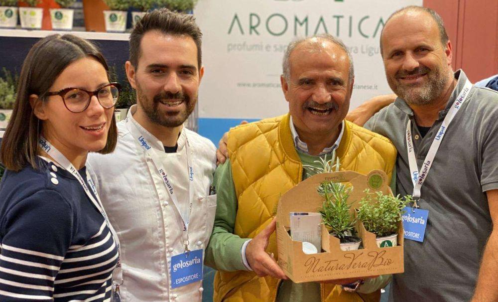 Grande successo a Golosaria 2019 per Diano Marina e Aromatica