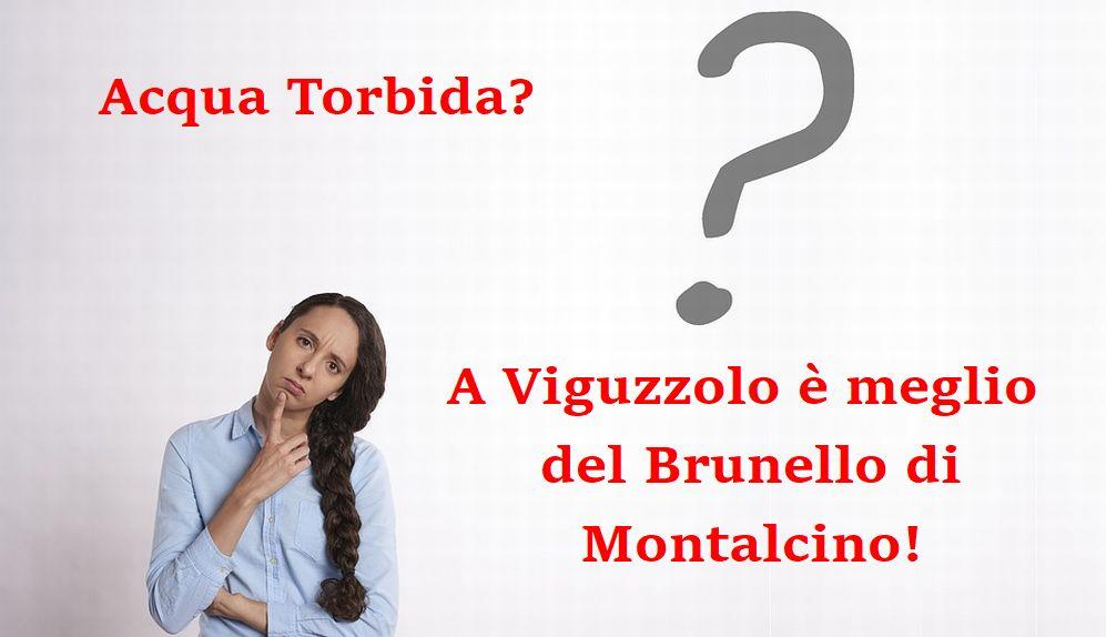 Perché a Viguzzolo l'acqua è pulita mentre a Tortona e a Volpedo no? Il dubbio di una lettrice