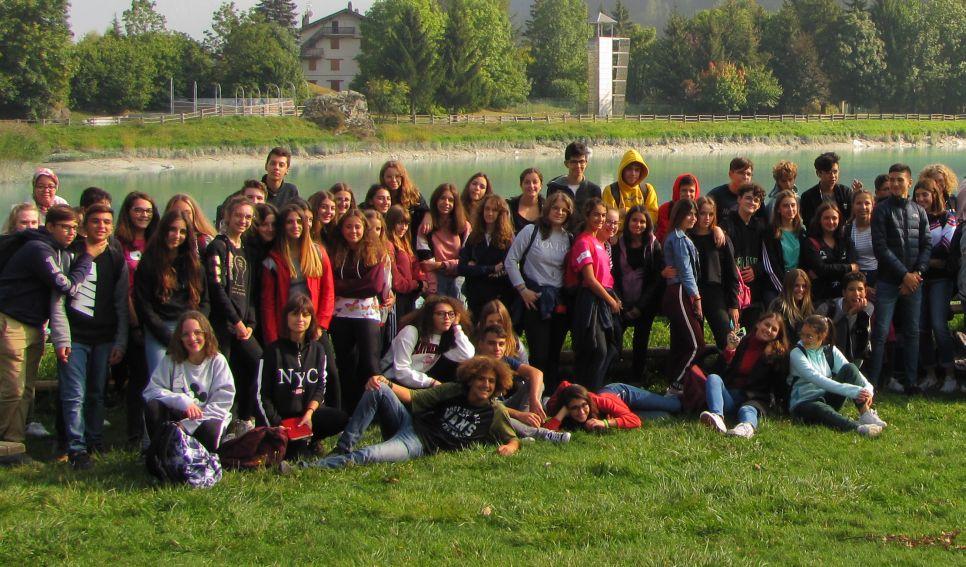 Gli studenti del Liceo Peano di Tortona in viaggio a Brusson