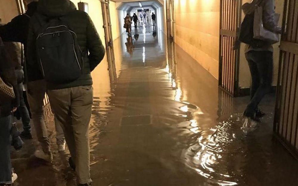 A Tortona scuole e sottopassi allagati, treni in ritardo e disagi. Le immagini dei danni del maltempo