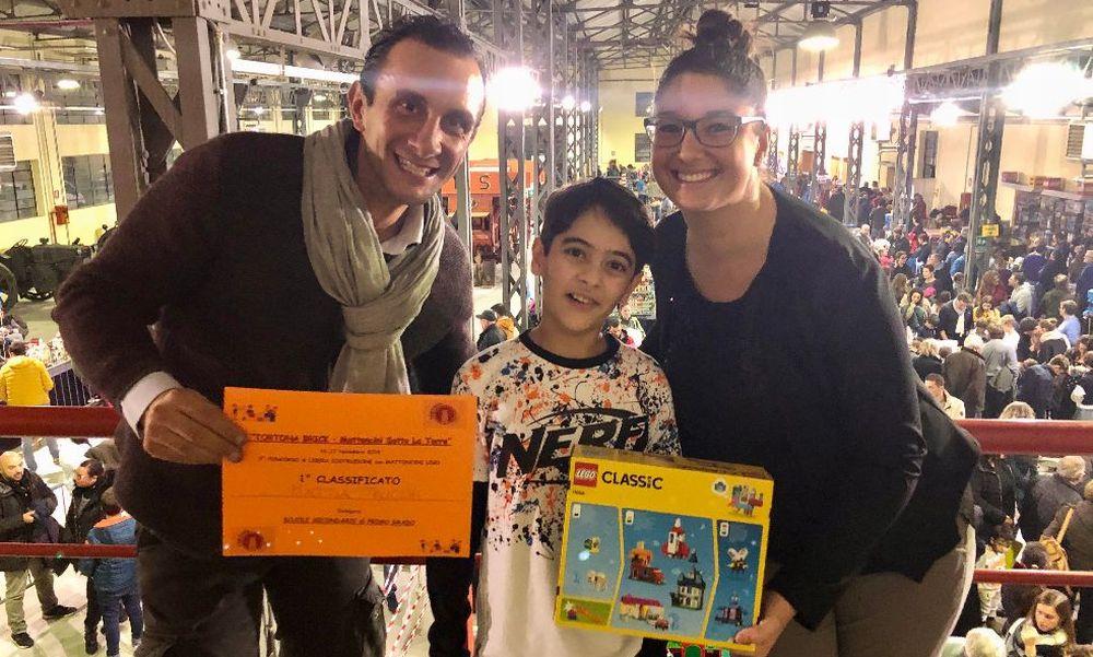 A Tortona Mattia Trucchi e Benedetta Zini vincono il concorso Lego per le scuole, seconde Alice Repetto e Anita Balduzzi