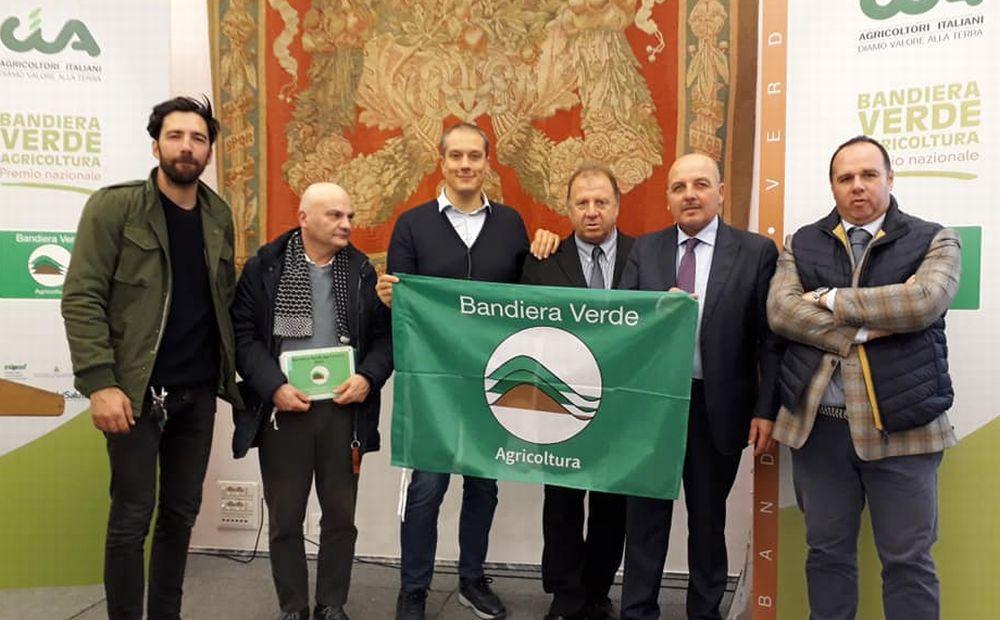"""""""Bandiera Verde Agricoltura"""" premia due volte l'Alessandrino Maurizio Carucci degli ex Otago e il carcere Don Soria"""