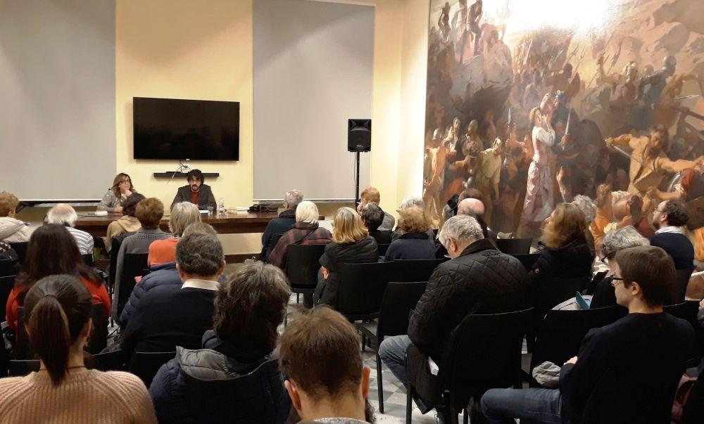 Tanta gente agli incontri di filosofia a Tortona e martedì si replica