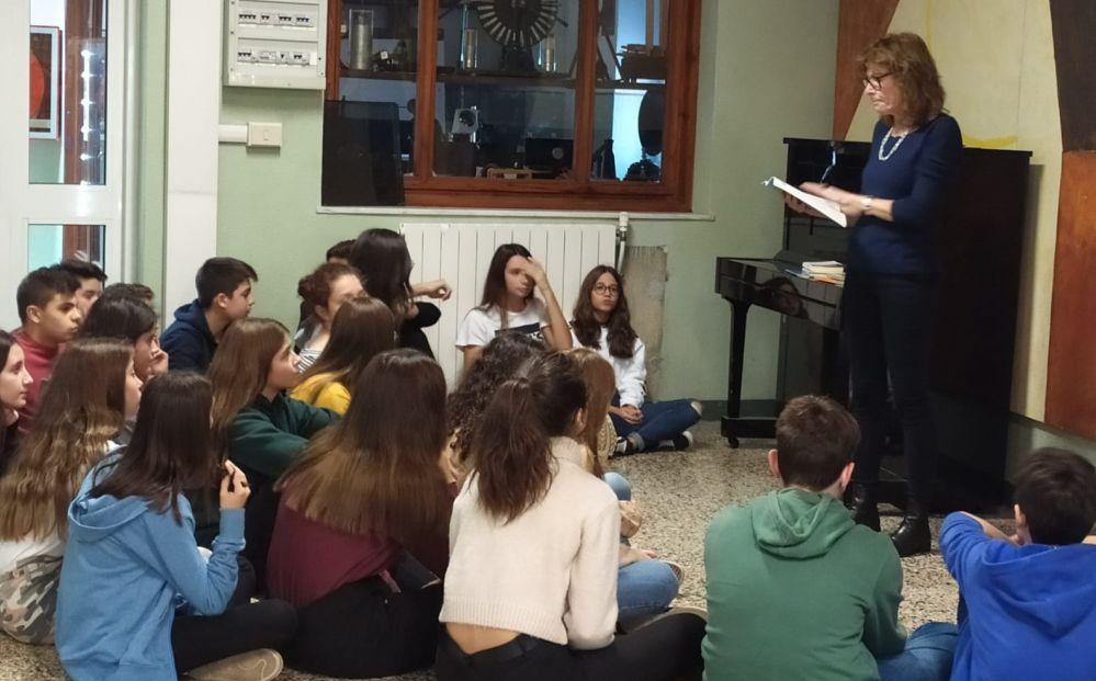 Gli studenti del Liceo Peano di Tortona in un'interessante iniziativa letteraria