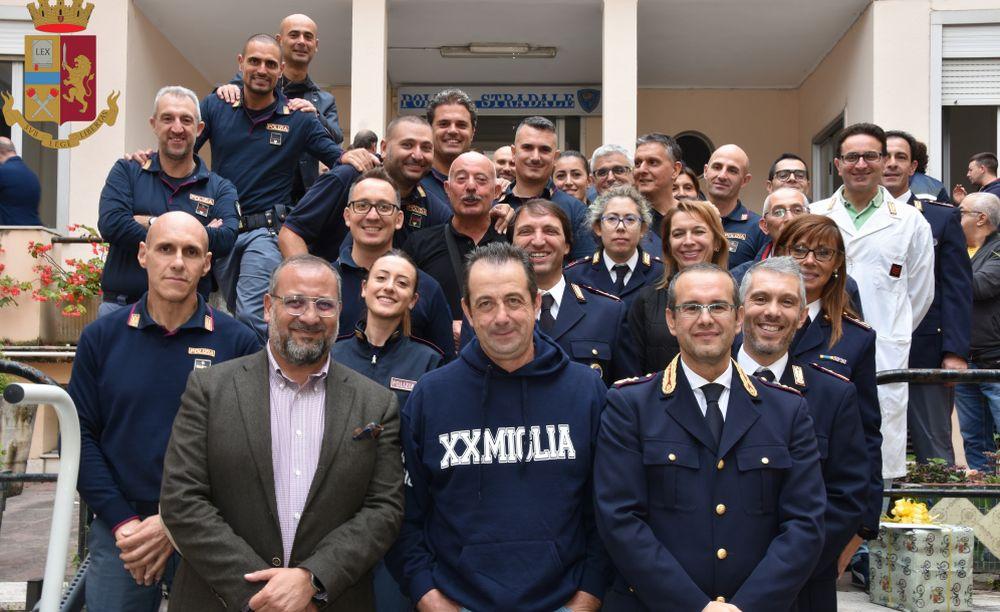 Ventimiglia, Ezio Sanguineti in pensione dopo quasi 41 anni di servizio in città