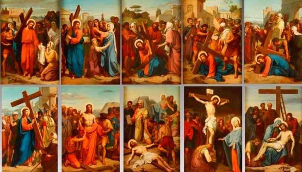 Alessandria, la memoria di Claudio Ferrando ricordata con un dono: 14 quadri della via Crucis