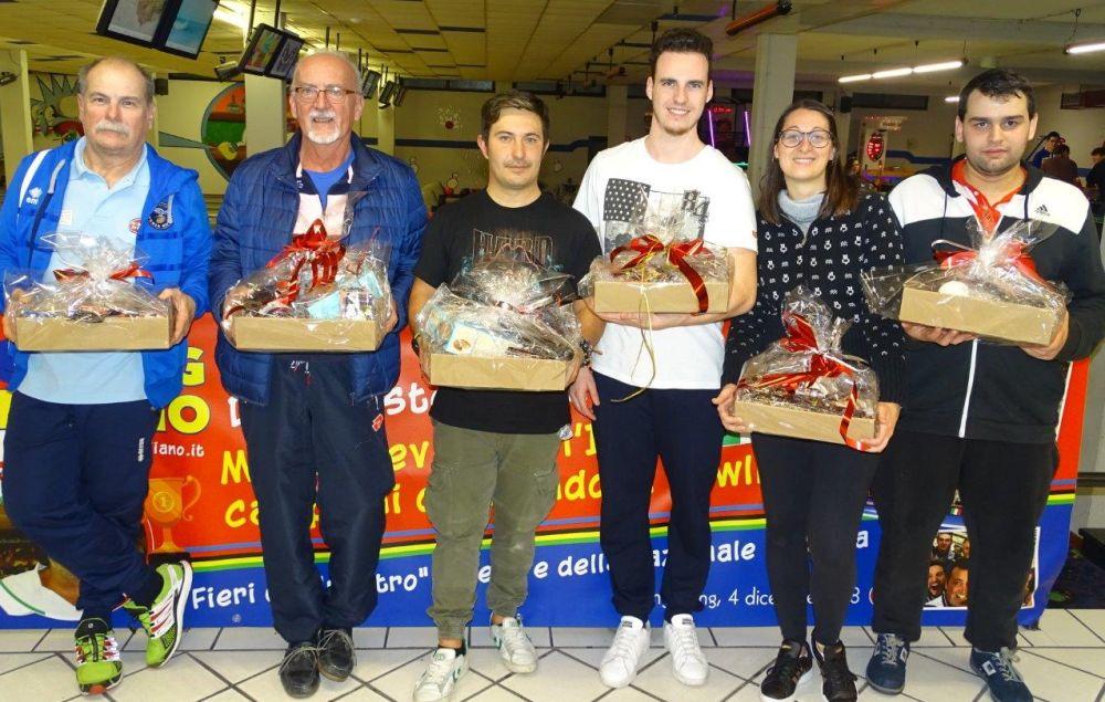 Bowling a Diano Marina, a Domenico Mazzilli la Caffè il Chicco Cup