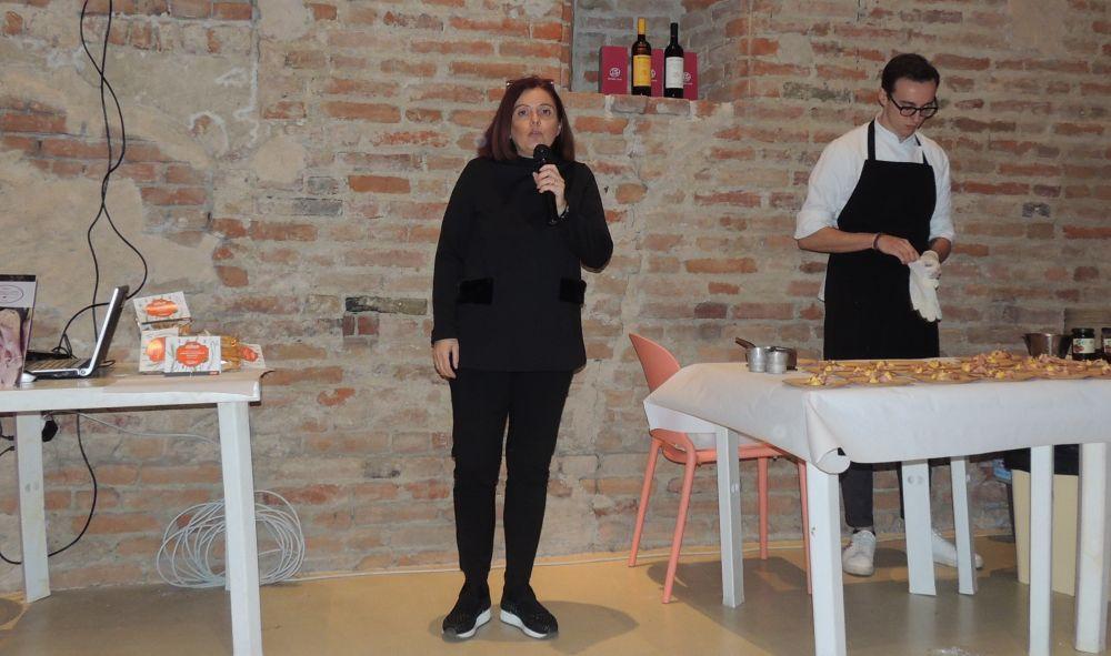 Grazie a Monica Cusmano la cucina tortonese sbarca a Milano e nei salotti buoni d'Italia