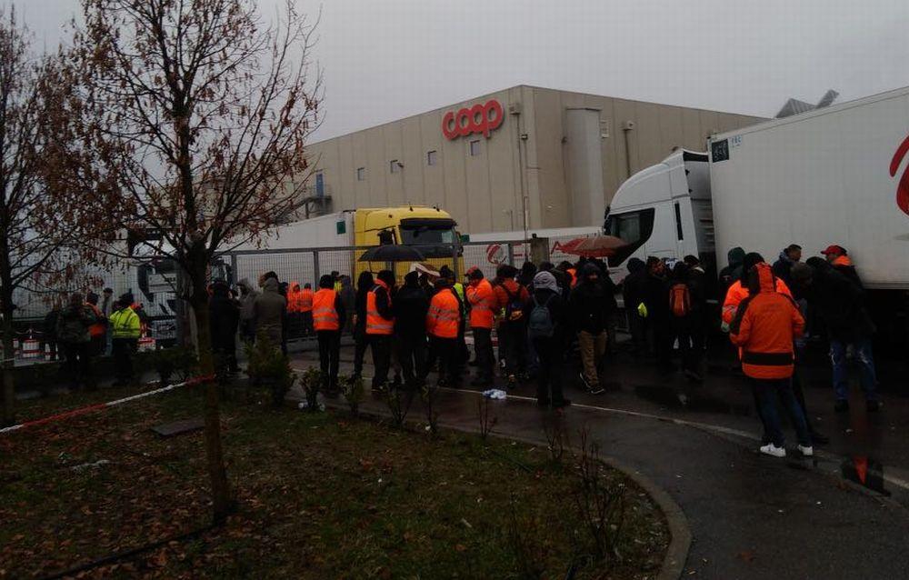 Ancora scioperi a Rivalta Scrivia proclamati dal Sindacato SI Cobas contro i licenziamenti